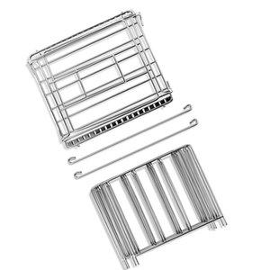 Aço inoxidável FreeShipping Sous Vide Rack e 11L Sous Vide Fogão Containers Define destacável divisores Separator para imersão circuladores
