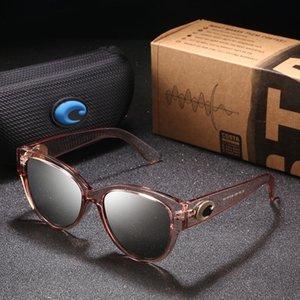 Costa Marke Designer Cat Eye Sonnenbrille Frauen 580p Polarized Sonnenbrille Für Frauen Weibliche Fahrbrillen Tönungen Gafas