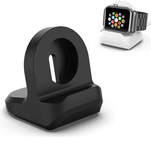Porta caricabatterie in silicone per Apple Watch Series 1/2/3/4/5 Dock Dock Station per l'orologio da 44 mm 42mm 40mm 38mm