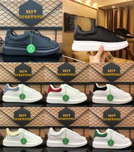 Top Qualität Freizeitschuhe Trendy Womens Herren Echtes Leder Wildleder Lace Up Black Velet Comfort Hübsche Plattform Sole Designer Sneakers
