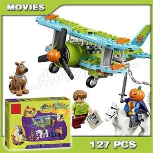 127 шт. Бела 10429 Тайна Самолет-приключения Scooby Doo Собака Горногаба из всадников Модель Модель Строительные блоки Совместимые с X0102
