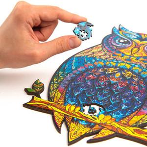 لغز خشبي الحيوان بانوراما A5 نوع فريد بانوراما قطع خشبية بانوراما لغز أفضل الهدايا للبالغين والأطفال W-00555