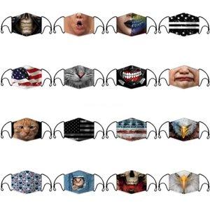 Máscara de cara PM2 Activado Anti Mask PM2 ANTI DSMU .5 con papel de filtro CA BOCA 50 UNIDOS PAZA DE PAPEL FILTRO # 164 POLVO DE ALGODÓN FOKGO