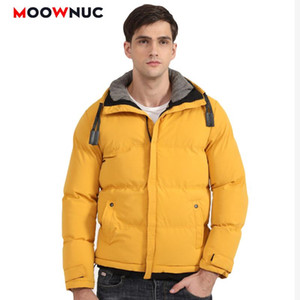 Winter Jacket Men's Casual Parkas Outdoors Windbreaker 2020 New Masculino Overcoat Solid Fashion Coats Hombre Business Windproof