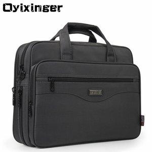 """OYIXINGER Mann-Aktenkoffer Laptop Gute Nylongewebe Multifunktions-Waterproof 15.6"""" Taschen Business Schulter Männer Büro Taschen"""
