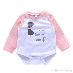 Kids Clothing Girl Jumpsuits Letter Printing Baby Clothes Baby Learning Climbing Clothing Long Cotton Sleeve White 11
