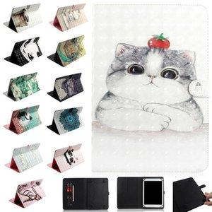 3D parint carino cane animale cat cassa portafoglio in pelle universale per 7inch 8 pollici 10 pollici tablet tablet Samsung galaxy tab iPad tablet