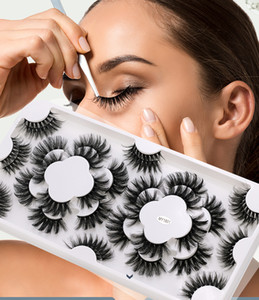 Natural 3d Faux Mink Eyelash Book 18 Pairs of Lashes Wholesale In Bulk 20 30 40 Full Strip False Eyelashes for Cosmetics Makup