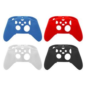 4 cores antiderrapante de silicone pele caso para Xbox Série S / X Controlador macia luva Game Acessórios