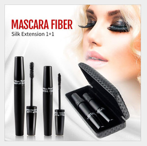 version 3D Mascara 3D FIBER LASHES Waterproof Double MASCARA With Barcode and instruction Fashion Item
