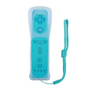Wireless Gamepad With Silicone Case for Wii Remote Controller Joystick