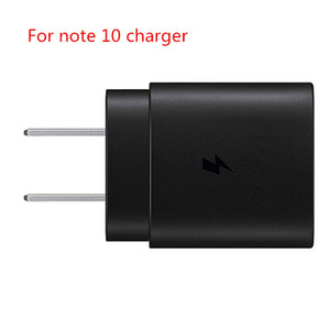 PD charger 25W Type c Super Fast Charging Eu US Wall Charger Power Adapter For Samsung Galaxy Note 10 Note 10 plus S10 android phone