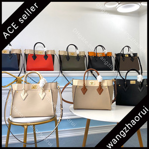 5A Top-Qualität auf meiner Seite Frauen Desig-Taschen Rindsleder Schulterhandtasche Echtes Leder Tragetaschen Berühmte Kleie Handtasche Kreuz Body Bag mitBoxB011