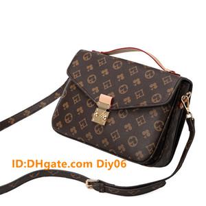 2021 Frauen Luxurys Designer Leder Handtasche Messenger Bag Oxidation Leder Pochette Elegante Umhängetaschen Crossbody Tasche Geldbörse Kupplungen Top