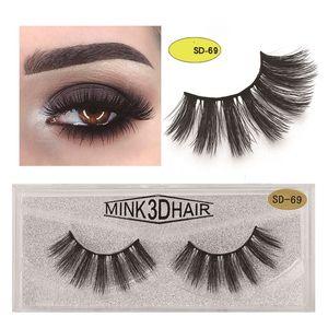 3d mink eyelashes lash Eye makeup mink false lashes soft Natural 25 thick fake eyelashes lash boxes lashes extension 20styles faux cils lash
