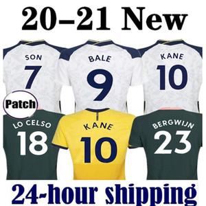 20 21 Balya Kane Son Bergwijn Ndombele Futbol Formaları 2020 2021 Lucas Dele Futbol Gömlek Lo Celso Erkek Kadın Çocuk Kiti Üniforma