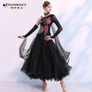 Modern Dans Uygulaması Elbise Yetişkin Kadın Ulusal Standart Balo Salonu Dans Ulusal Standart Performans Giyim MQ2961