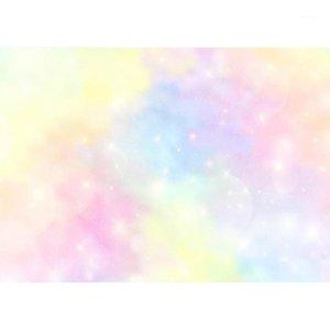 Colorido glitter bokeh foto fundos personalizados pano de fundo fotografia adereços para crianças bebê baile festa de aniversário fotoshoot1