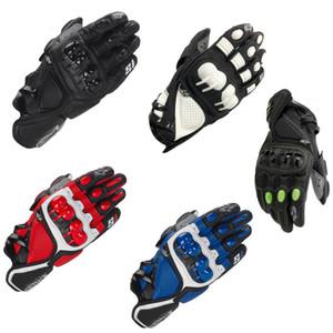 Новая S1 кожа дорога мотоцикл мотоцикл перчатки мужские и женские велосипедного спорта все-палец против падения мотоцикла перчатки велосипеды