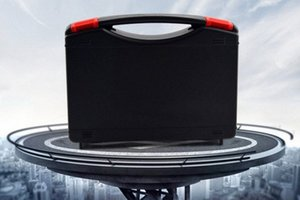 230X180X45MM Plastic Tool case suitcase toolbox Impact resistant safety case equipment Instrument box equipmet Car kit XwWe#