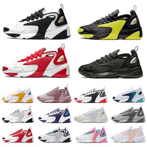 zoom 2k Rainbow Triple Nero Creamy White Zoom 2K M2K scarpe da corsa da uomo Tekno Race Red Royal Blue Dark Grey uomo donna Sneaker per sport all'aria aperta