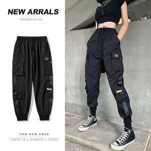 Casual Calças Oversize carga dos homens Privathinker 2020 Mulher Outono Nova Calças Moda coreana Streetwear homem de Hip Hop do sexo masculino Calças 0930