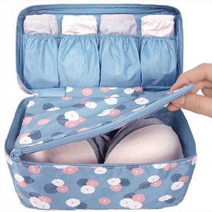 Organizer Bra Travel Bags Bags Makeup Toiletry For Women Lingerie Organizer Wash Underwear pouch storage bolsa waterproof bag XL Uefsj