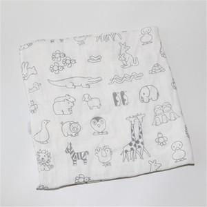 Bebê Swaddle Baby Muslin Cobertor Qualidade Melhor do que Aden Anais Bebê Multi-usa Algodão / Bambu Blanket Infantil Wrap LJ201014