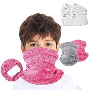 NewMondkapjes 12pcs Kids Sports +s Scarf Mondmasker For Germ Protect Mascherine Masque Mascara Facial Halloween Cosplay Mask