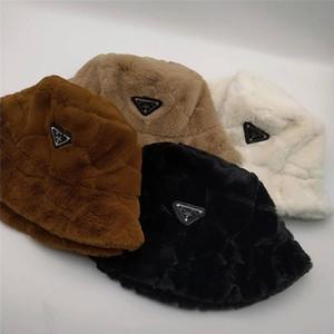 2020 new designer Autumn winter fashion luxury new MAO MAO Fisherman hat warm basin hat imitation rabbit hair face big show face little lamb