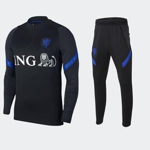 New 2020 2021 football jersey sportswear 20 21 football jersey jacket autumn and winter men's suit size S-XXL