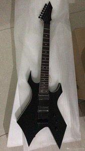 Livraison gratuite! En gros de haute qualité 7 cordes BCRI en forme de guitare électrique en noir, Whith aBlocage Corde guitare 180106