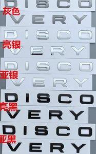 Baru Depan Hood Emblem Penemuan Kata-Kata Mobil Styling ABS Mobil Merparasi Stiker Mobil Kata-Kata Emblema Terra Land Rover Dan Segainya