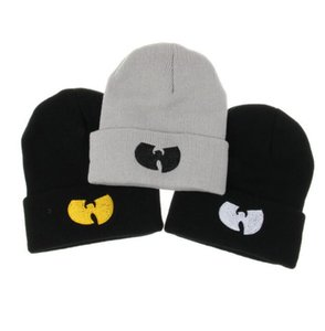New Hot Men Women Wutang Winter Warm Beanie Hat Musice Skullies Knitted Soft CLAN HipHop Music Team Hats Caps