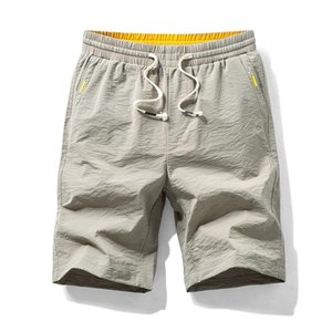 Shorts Homens Sólidos Camouflage Shorts Streetwear Hip Hop cintura elástica Gym Roupa Sportwear Man Verão 2020