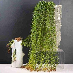 105cm planta de suspensão artificial simulada Weeping Willow planta artificial falsa pendurado plantas curto e longo padrão1