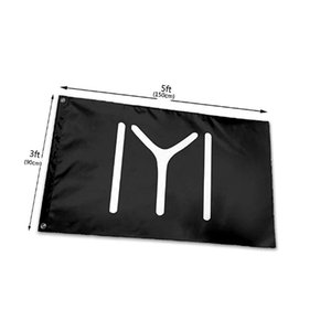 Benutzerdefinierte IYI KAYI-Flaggen Banner Heiße Verkäufe 150x90cm 100D Polyester Digitaldruck High Quality Design Logo
