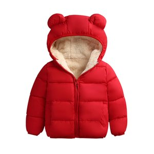 Baby Girls Jacket Autumn Winter Jacket For Girls Coat Kids Warm Hooded Outerwear Coat For Boys Jacket Coat Children Clothes 201117