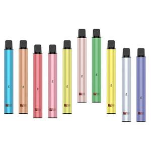 100% originale Yocan Flavbar V2 monouso Vape Pen Pod dispositivo 5% 3ml preriempita 1000 soffi 650mAh autentica di trasporto del DHL