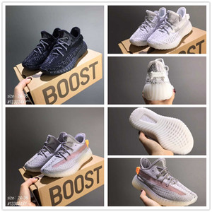 Baby Children Youth Cream Reflective Infant True Form Hyper Bred Beluga Clay Hyperspace West Running Shoes Sport Sneaker size 24-35