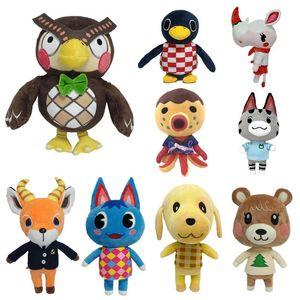 Toy Crossing Plush Toy Crossing Horizons Game Amiibo New Gifts Marshal Plush Presents Doll Animal For NFC Children Birthday A Luroj