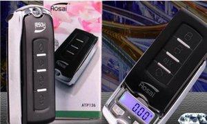 100g 0 .01g 200g 0 .01g bewegliche Digital-Skala Waage im Gleichgewicht, Gewicht Gewichtung führt elektronische Auto-Schlüssel-Design-Schmuck-Skala Handtuch