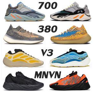 scarpe adidas yeezy boost wave runner 700 v2 yeezys 380 alien yezzy yezzys boots 700 v3 Kanye West mens scarpe da ginnastica scarpe da corsa Azael Alvah MNVN donne Stock x Sports