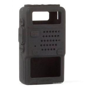 Cellphones & Telecommunications Walkie Talkie silicone holster Cover For BAOFENG 5R Portable Ham Radio -5R -5RA Plus UV-5RE Plus UV-5RB