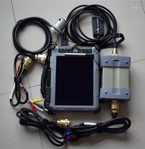 Novo MB Estrela C3 Alta Qualidade MB Diagnóstico Tester Star C3 com software SSD IX104 Tablet para Merce Diagnosis Tool1