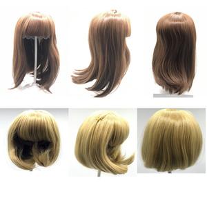 NPK de poupée reborn enfant en bas âge sticked perruque de cheveux 23inch Poupées réalistes bébé reborn silicone perruque de cheveux bricolage Poupée Accessoires 201021