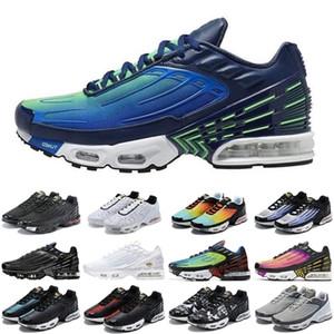2020 sıcak tn artı 3 erkek kadın spor ayakkabı üçlü beyaz siyah yanardöner paraşüt paketi örümcek erkek eğitmenler spor sneakers koşucular