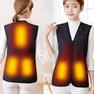 Hot USB Warm Electric Vest Heated Heated Pad Clothing Physiotherapy Jacket Body Warmer Thermal Winter 2020