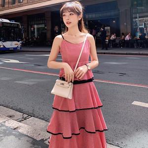 S-3XL летнее платье без рукавов не на плече натуральный черный синий красный с плечо женщин 2019-Soperwillton повседневная платье1
