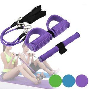 Hiinst Direnç Egzersiz Lateks Germe Bantları Fitness Ekipmanları Situps Fitness Germe ve Göğüs Genişletici 31
